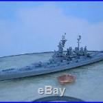 1/1200-1/1250 Neptun 1302 USS NORTH CAROLINA (BB-55) Battleship metal model USED