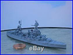 1/1200-1/1250 Neptun 1306 USS TEXAS (BB-35) Battleship WW2 metal ship model USED