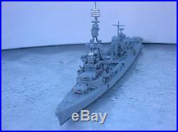 1/1200-1/1250 Neptun 1336 USS PENSACOLA (CA-24) Cruiser metal ship model USED