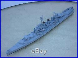 1/1200-1/1250 Neptun 1342B USS NASHVILLE (CL-43) Cruiser metal ship model USED
