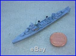 1/1200-1/1250 Neptun 1362a USS BENSON (DD-421) Destroyer metal ship model USED