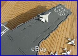 1/1250 Nuclear attack carrier CVN 65 USS ENTERPRISE & 12 ac airgroup Navy 1981