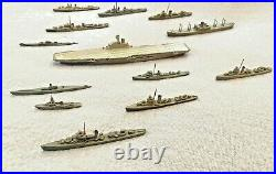 1/1250 scale waterline Carrier Group Framburg, Tri-ang, Comet 13 ships