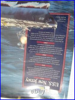 1/350 Revell USS New Jersey BB-62 WW2 US Navy Battle Ship Plastic Model Kit 5214