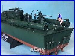 1/72 Built Revell PtBoat PT109 JFK with upgrade PE parts JFK