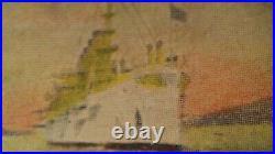 1908 GREAT WHITE FLEET San Francisco CELLULOID PINBACK BUTTON Irvine Jachens OLD