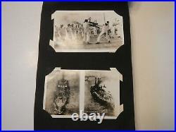 1921 U. S. S. Delaware battleship pictorial log 156 RPPC and regular postcards