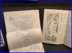 1940 Photo Album, USS Yorktown, US Navy, William Shulver, Menus, Matchbooks More