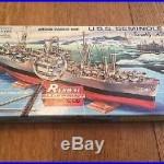 1950 Renwal S-604149 Blueprint Models Attack Cargo Ship USS Seminole KA 104 AKA