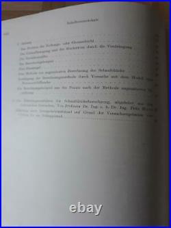 1952 Wien Austria Marine Ship Schiffbautechnischen Rare Book 59 Fotos 50 Plan
