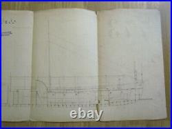 2 MAHART HUNGARY Österreich AUSTRIA GERMANY REGENSBURG MARINE SHIP PLAN 1894