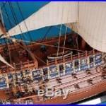 21 HMS SOVREIGN of the SEA Royal Navy Model Ship Nautical Mantel Centerpiece