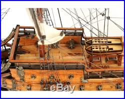 29-inch WOODEN SHIP MODEL Swedish Wasa 16th Century Warship Replica Collectable