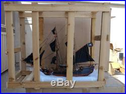 30 Wooden Tall Model Pirate Ships 26 FULLY ASSEMBLED - ONLY $20 EACH L@@K