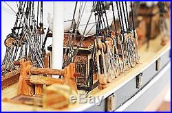 34.5 Long Cutty Sark (no sail) Handcrafted Wooden Ship Model