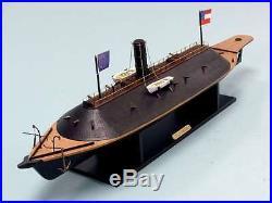 34 CSS Virginia Confederate Civil War Ship Ltd. Edition Wooden Quality Model