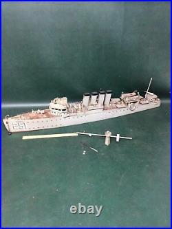 40 Wooden Model of USS Navy Clemson-class Destroyer Edwards 251 Restoration