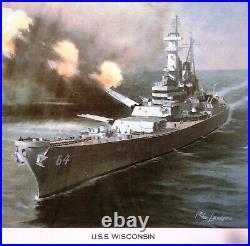 50 US State Ships -Charles Lundgren Prints