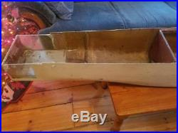7' Model Boat Ship Hull from MIT Museum Nuclear Aircraft Carrier USS Enterprise