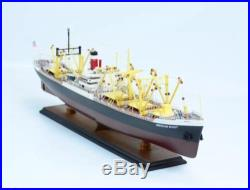 AMERICA SCOUT C2 TANKER 34 Handcrafted Wooden Model Ship NEW