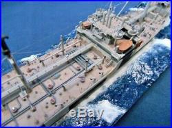 AO-112 USS Mission Capistrano / Pro built diorama 1400 / FREE SHIPPING