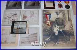 ARCHIVE OF CHAPLIN HARRY W. JONES SPANISH AMERICAN WAR USS TEXAS + SAMPSON MEDAL