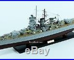 Admiral Graf Spee Deutschland-class Cruiser 40 Handmade Wooden Battleship Model