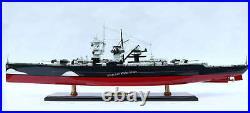 Admiral Graf Spee German Battleship Model 39 Handcrafted Wooden Painted Version