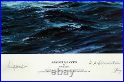 Against All Odds Fine Art by Artist Robert Taylor