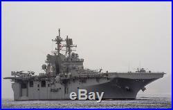 Aircraft Carrier USS America LHA-6 America-Class Amphibious Assault Model Ship