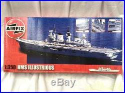 Airfix Unassembled 1/350 Airfix Hms Illustrious A14201 Ship Submarine