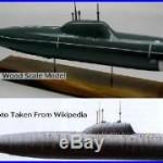 Alfa Class Russian Navy Submarine Desktop Wood Model Large New