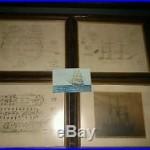 Antique USS Constellation 1854 Plans Pictures Post Card Lot Baltimore Civil War