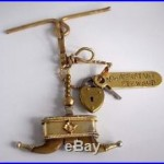 Antique Victorian Naval Ships #2 Asst Steward Faux Claw Watch Fob Keys Pendant
