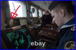 Antique ussr soviet russian submarine clock Soviet Nuclear Submarine