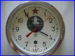 Antique ussr soviet russian submarine clockSoviet Nuclear Submarine 8-Day Spring