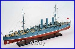 Aurora Pallada Class Russian Roayl Navy Protected Cruiser 40Wood Model War Ship