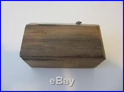 Authentic USS Intrepid CV-11 Large Block of Teak Deck Wood WWII Aircraft Carrier