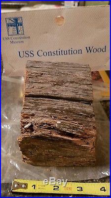 Authentic Wood from USS Constitution