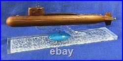 BIG Vintage Russian handmade ATOMIC SUBMARINE North sea fleet K-112 KURSK