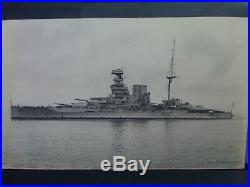 Battleship H. M. S. Queen Elizabeth c 1920's