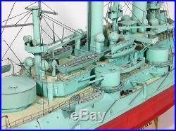 Battleship Petropavlovsk, 1904, 1/200, paper kit built