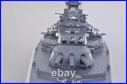 Battleship USS Alabama BB-60 Wood Model 43 USN Naval Memorial Park Museum Ship