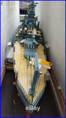Battleship USS Arizona (bb-39) Handcrafted War Ship Museum Quality Display Model