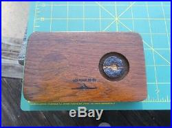 Battleship USS Iowa BB-61 Original Teak Deck Wood Piece
