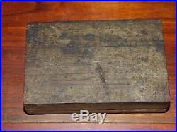 Battleship USS North Carolina BB-55 Original Teak Deck Wood Piece