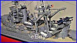 Battleship WW2 USS Arizona Dec 7 1941 Metal Hull Model Pearl Harbor World War 2