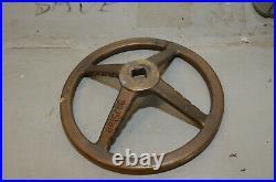 Brass Hatch Wheel from USS Briscoe DD-977
