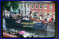 C. 1945 WWII Lancaster, PA, Iron Works Navy Ship Float Soldier, Orig Slide a19a