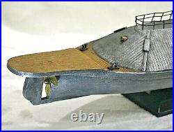 CSS VIRGINIA Civil War Ironclad Confederate Ship 25 long, Resin Compound